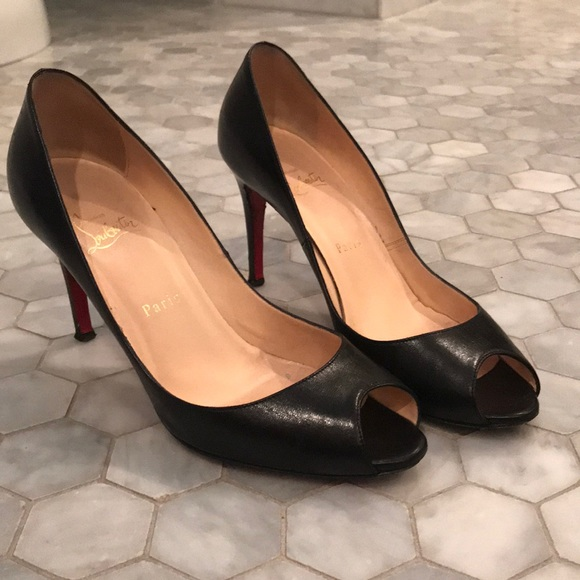 47e6c10f52a Christian Louboutin You You 85 peep toe pump